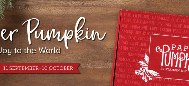 Stampin Up October 2020 Paper Pumpkin Kit