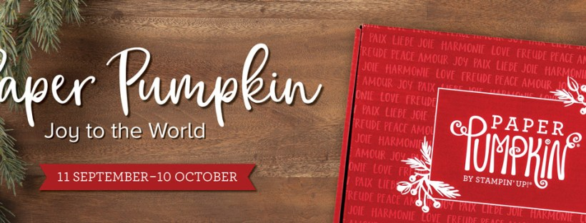 Stampin Up October 2020 Paper Pumpkin Kit