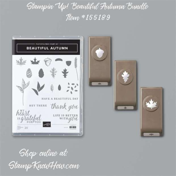 Stampin Up Beautiful Autumn Bundle
