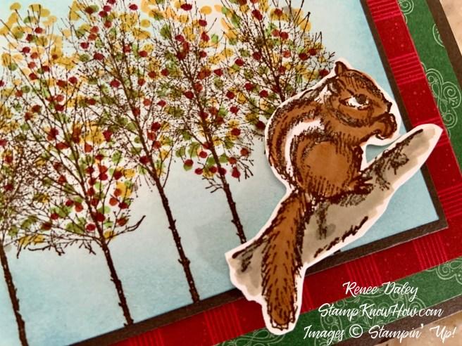 Field Journal Autumn Thank You Card