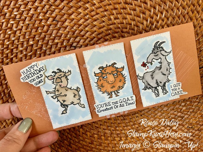 Way To Goat Stamp Set by Stampin Up