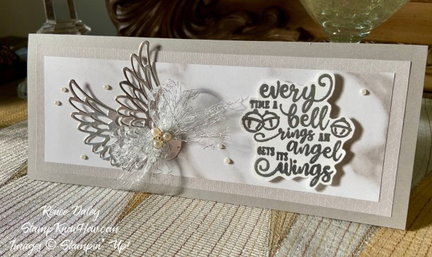 Stampin Up Wonderful Life Christmas Card