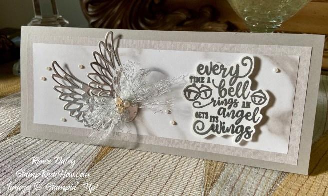 Stampin Up Wonderful Life Christmas Card