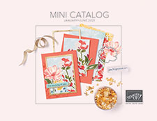 Stampin Up January-June 2021 Mini Catalog Cover