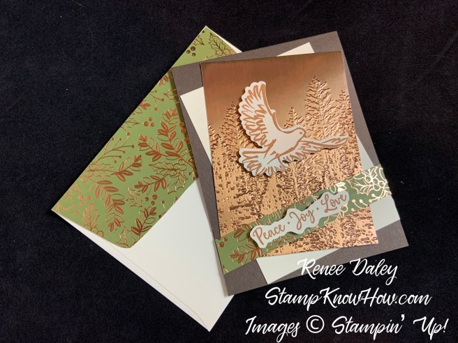 Dove of Hope Christmas Card with matching envelope