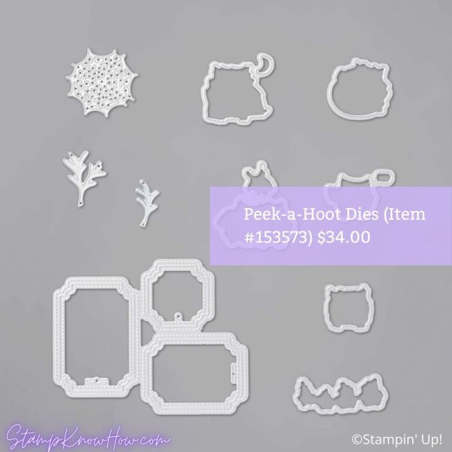 Peek-a-hoot dies from Stampin' Up