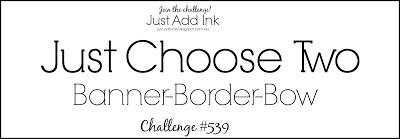 Just Add Ink Challenge #539