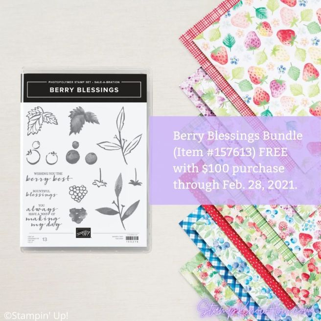 Berry Blessings Bundle from Stampin' Up