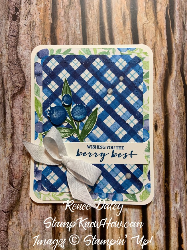 Berry Blessings Bundle Card