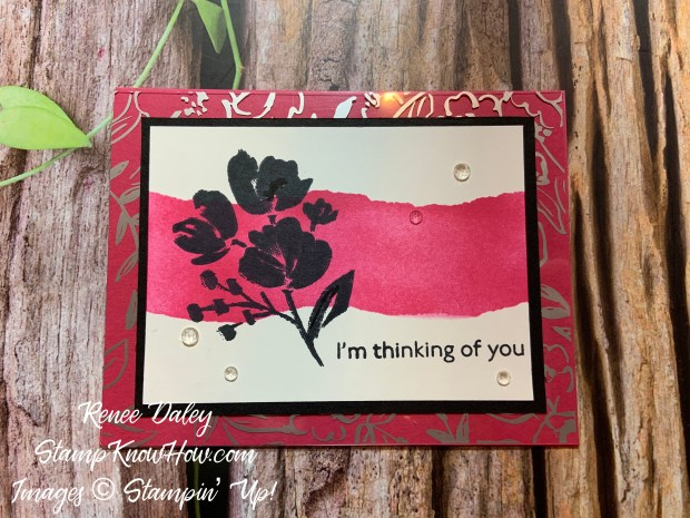 Art Gallery Encouragement Card
