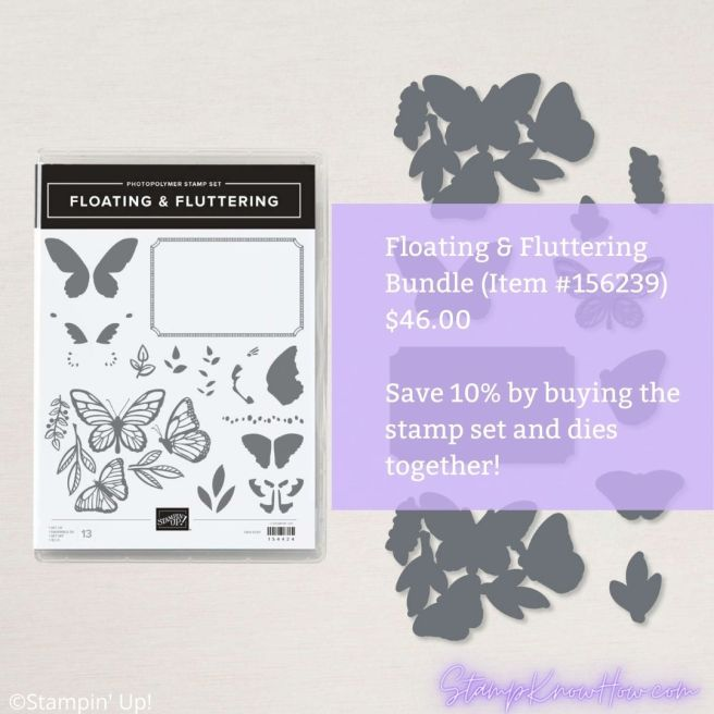 Stampin' Up Floating & Fluttering Bundle