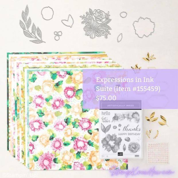 Expressions in Ink Suite by Stampin' Up