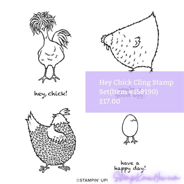 Hey Chick Stamp Set by Stampin' Up