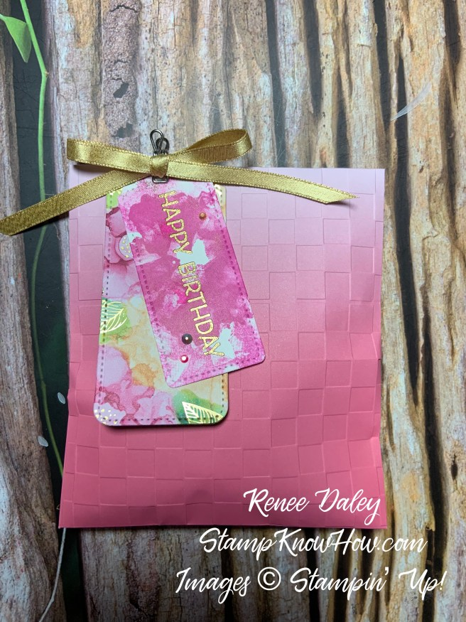 Artistically Inked Gift Bags