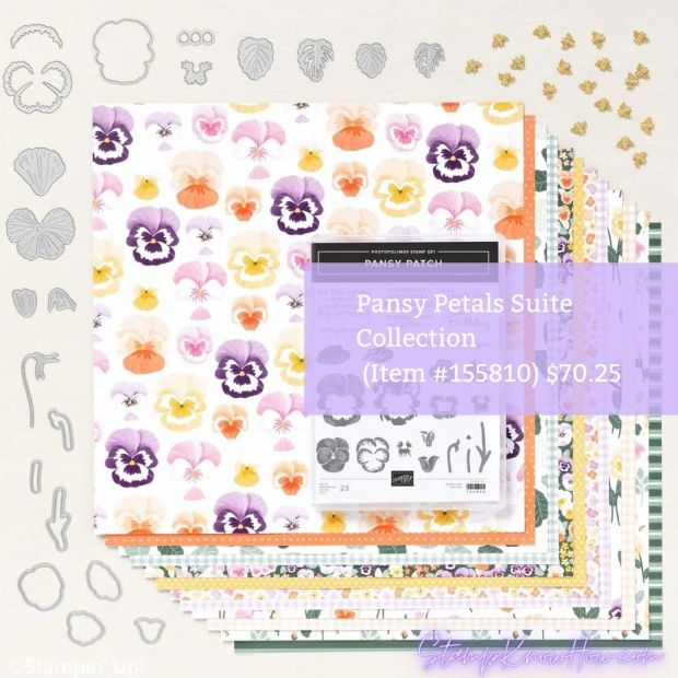 Image of Pansy Petals Suite Collection by Stampin' Up