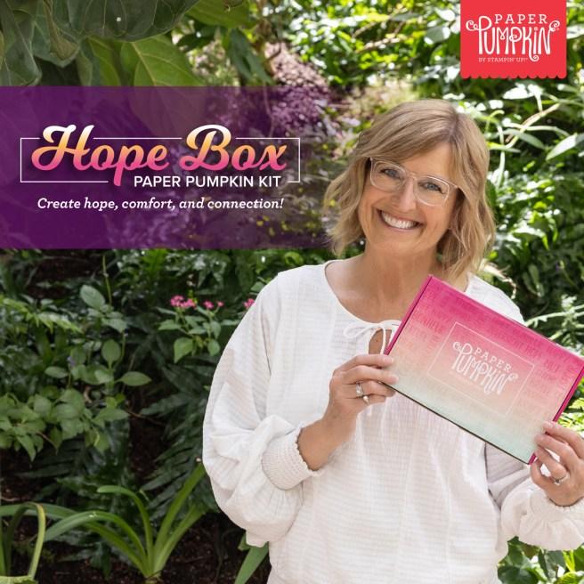 Stampin' Up August 2021 Paper Pumpkin Kit: Hope Box