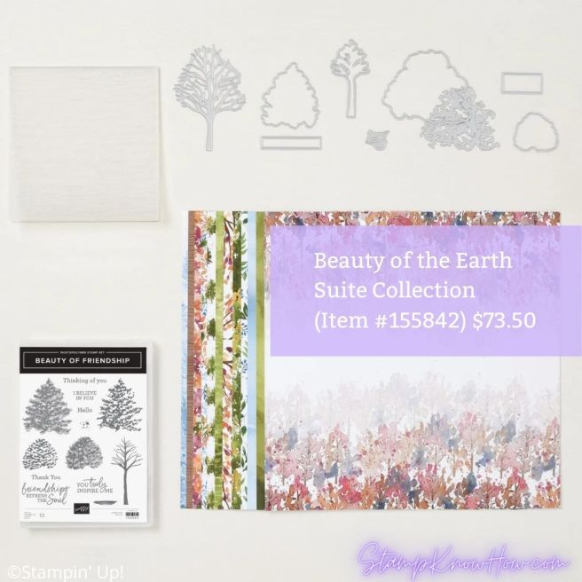 Beauty of the Earth Suite Collection by Stampin' Up