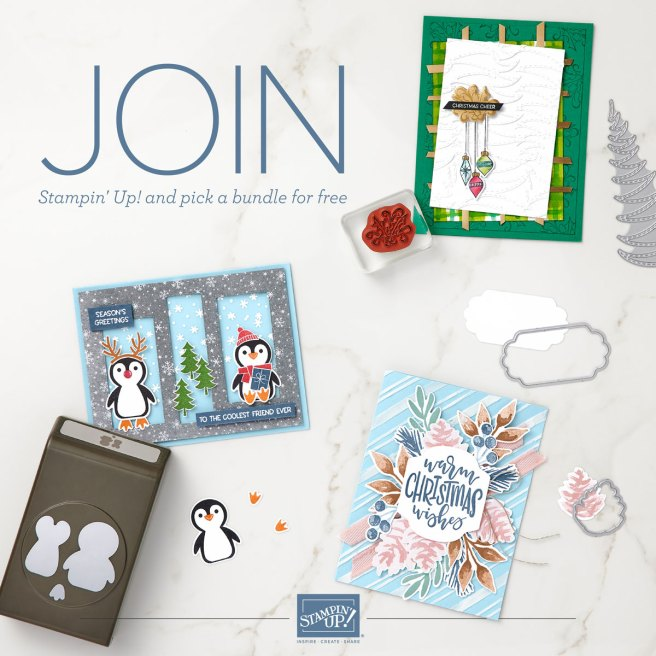 Join Stampin' Up during Sale-a-bration image