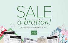 Stampin' Up Sale-a-bration brochure