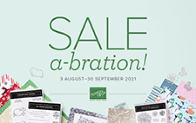 Stampin' Up Sale-a-bration brochure image