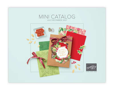 August 2021 Stampin' Up Mini Catalog image