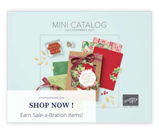 Stampin Up Sale-a-bration image