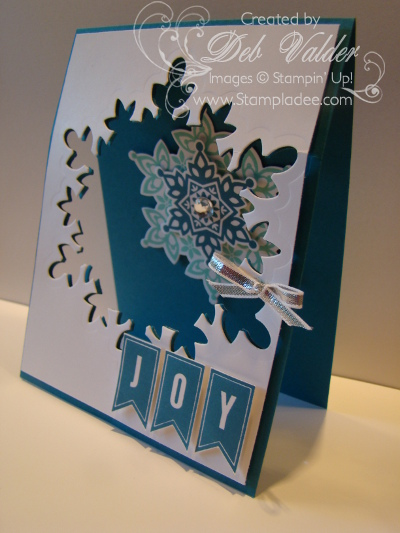 Festive Flurry A Banner Christmas Stampin Up And Deb