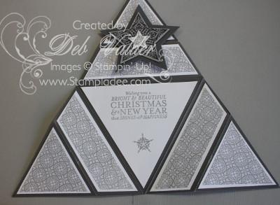 Origami Triangle Star Card With Deb Valder Deb Valder