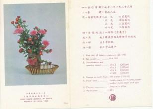 chinese flower arrangement- 4