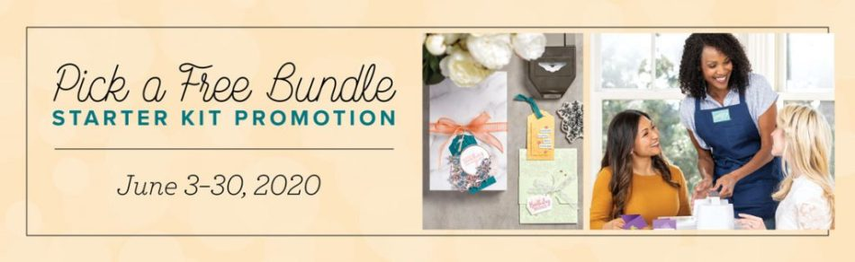 Join Stampin' Up!, Starter Kit Special, FREE Bundle, Stampin' Up!, Terri George, Join My Team