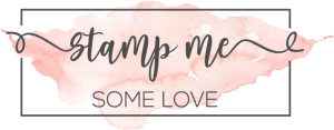 Stamp Me Some Love Rectangle Logo
