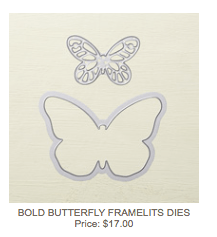 Bold Butterfly Thinlits Dies