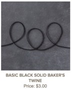 Basic Black Solid Baker's Twin