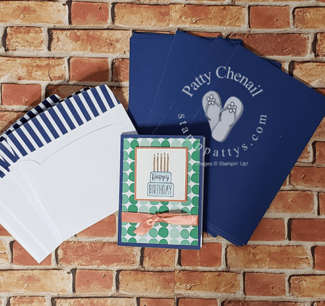 Quick cards using Happiness Blooms Memories & More product suite along with Pieces of Cake stamp set