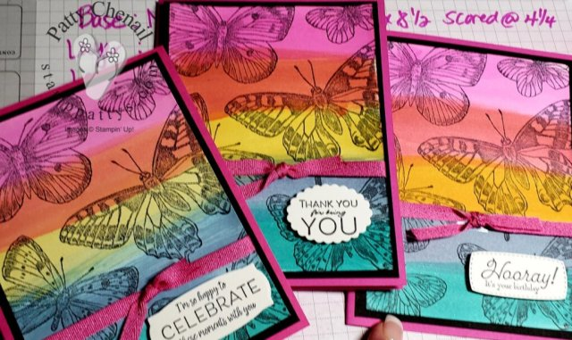 Butterfly Brilliance - an early released bundle from Stampin' Up!  It is available to customers now!