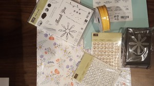 card making with Delightful Daisy suite