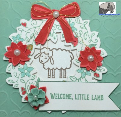 Welcome Sweet Lamb Front Close-up watermarked
