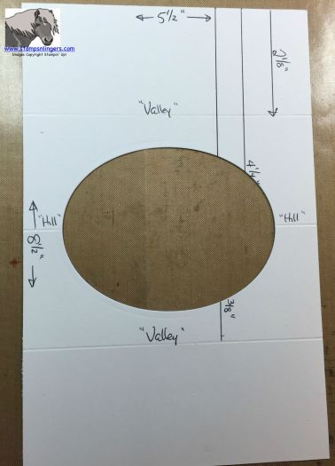 Tunnel Card Tutorial hills and valleys watermarked