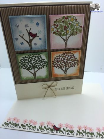 Happiness Always CYCI 80 card and envelope watermarked