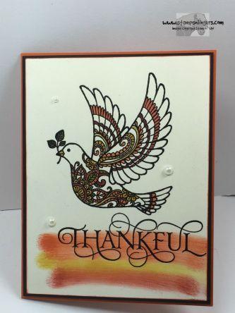 Autumn Dove of Peace 1