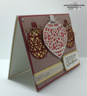 Embellished Ornaments 6 - Stamps-N-Lingers