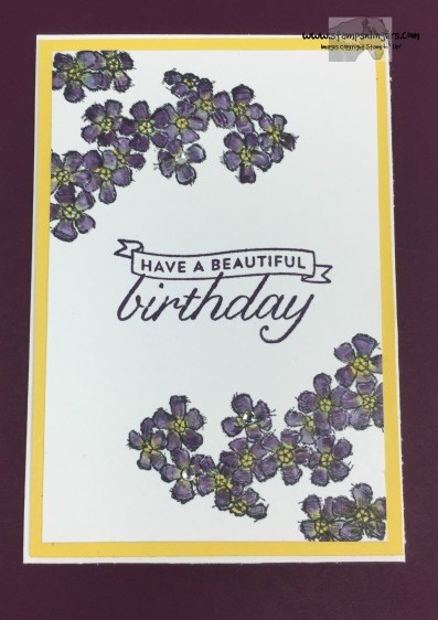 Birthday Blossoms 1 - Stamps-N-Lingers