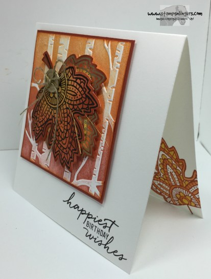 Lighthearted Leaves Birthday 3 - Stamps-N-Lingers