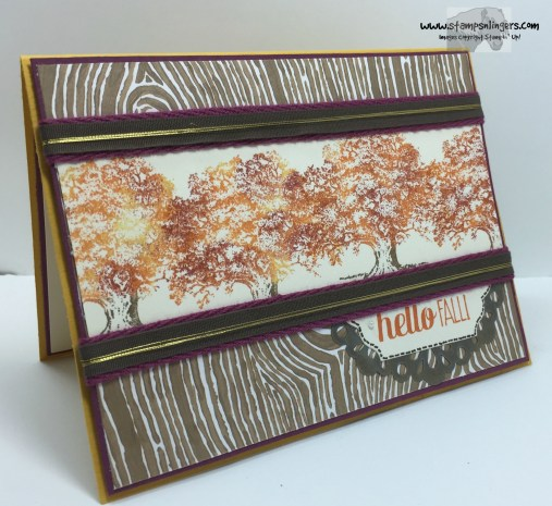 Lovely as a Tree Hello Fall 1 - Stamps-N-Lingers
