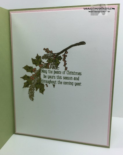 Peaceful Wreath Peaceful Pines 5 - Stamps-N-Lingers