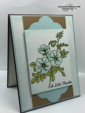 Sweetbriar Rose Thanks 3 - Stamps-N-Lingers