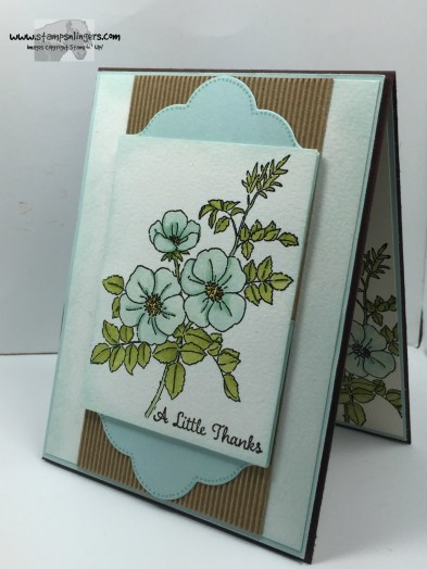 Sweetbriar Rose Thanks 4 - Stamps-N-Lingers
