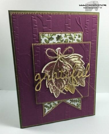 Vintage Leaves Seasonal Frame 1 - Stamps-N-Lingers