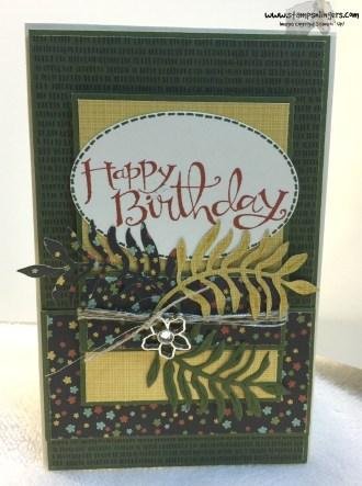 Botanical Suite Birthday 2 - Stamps-N-Lingers