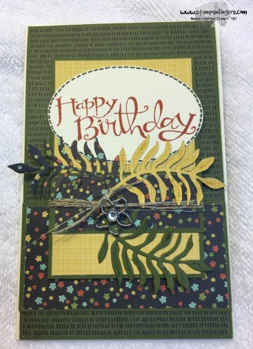Botanical Suite Birthday 3 - Stamps-N-Lingers
